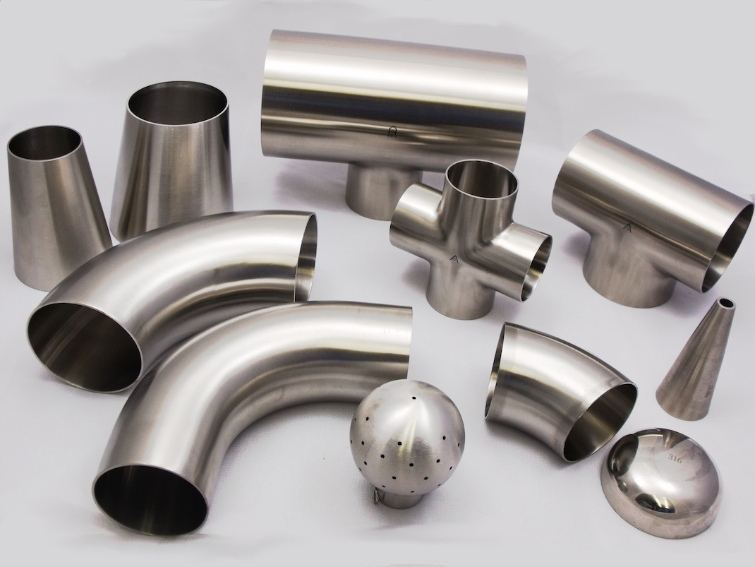 Stainless steel 304/304L pipe fittings - NinthOre Overseas